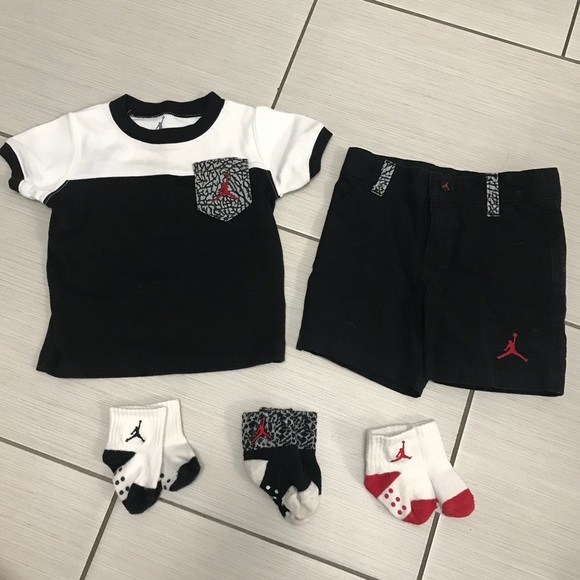 780f4f7006d Jordan outfit set for boys